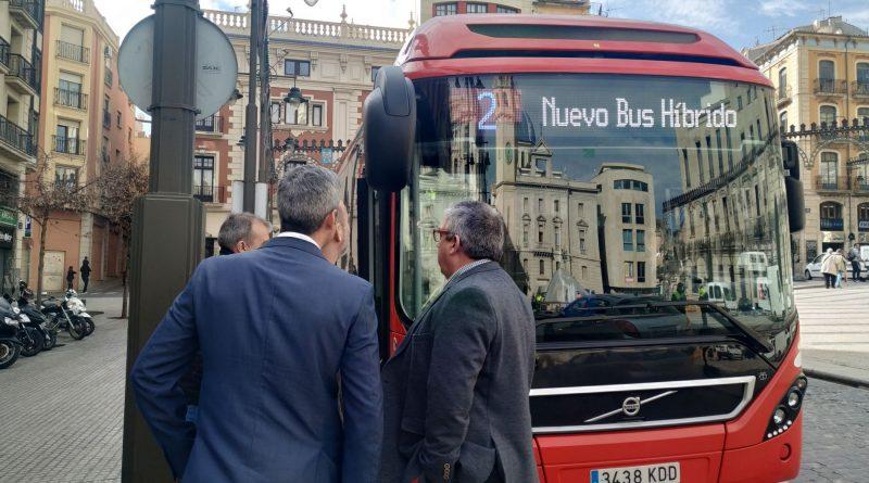 Alcoy's first Hybrid bus